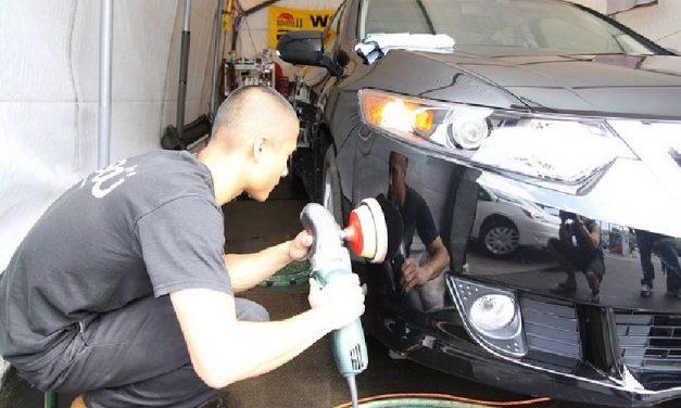 Comment se déroule le polish de voiture ?