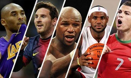 Les sports et sportifs les plus rentables